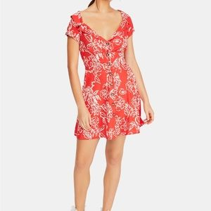 NWT Free People A Thing Called Love Floral Dress